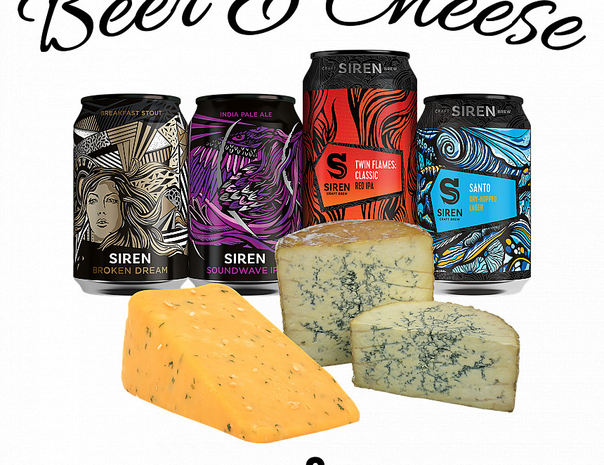 Beer & cheese evening with Siren