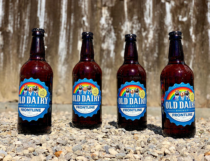 NHS charity in Kent benefits from beer sales