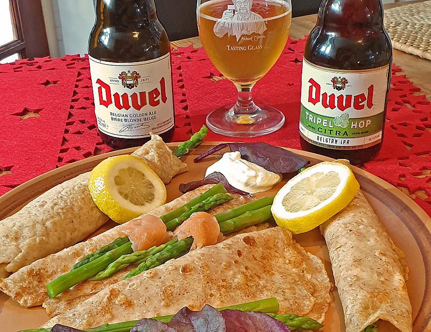 Beer Recipe: Duvel pancakes