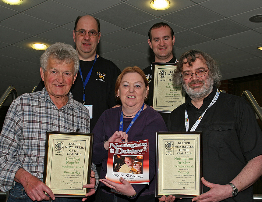 Is you branch magazine good enough to win a top CAMRA award?