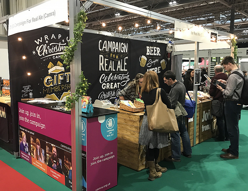 Beer plays a starring role at BBC Good Food Show