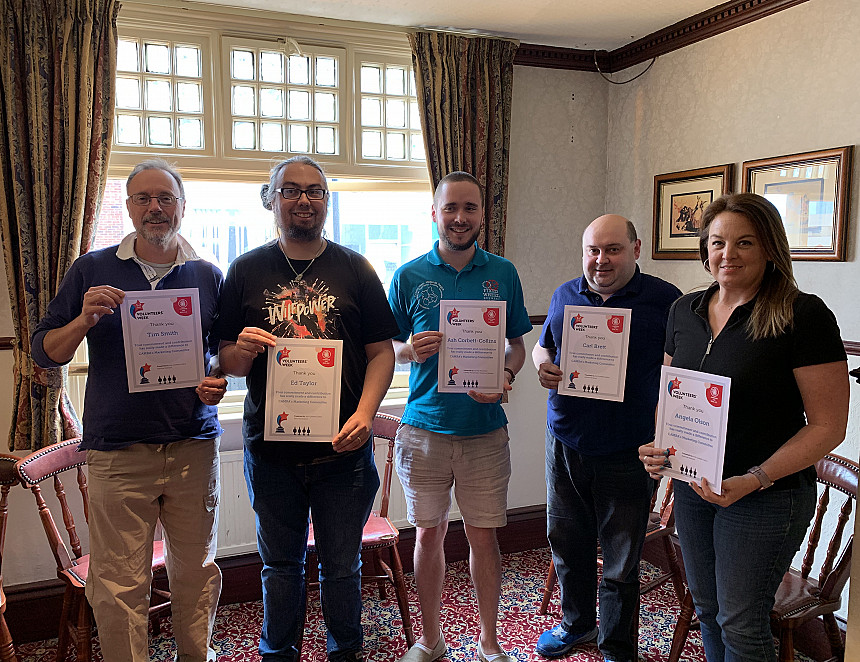 CAMRA celebrates National Volunteers' Week with parties and awards