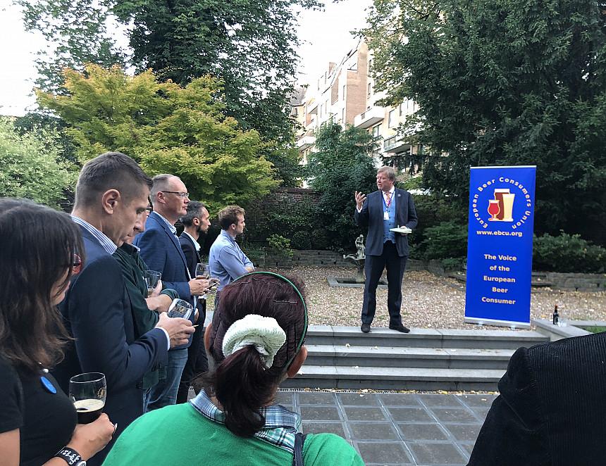 EBCU hosts successful Brussels reception