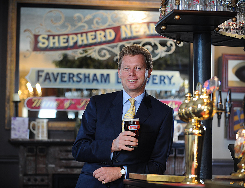 Shepherd Neame reports increased profits as it moves away from contract brewing