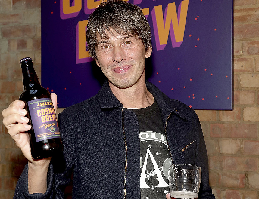 Celebrity broadcaster launches own brew with JW Lees