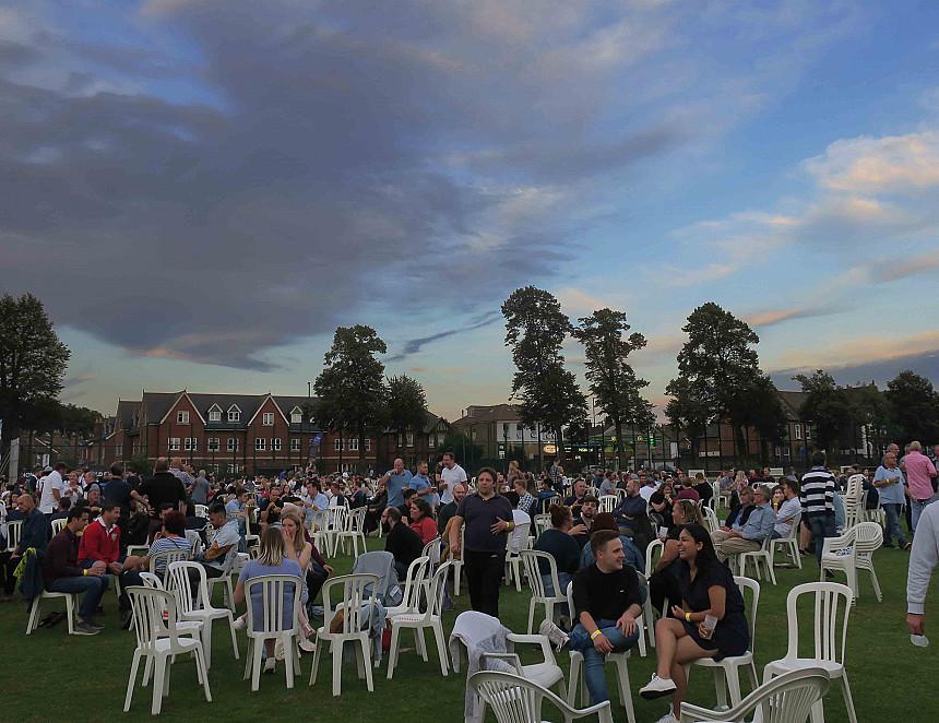 High scores for revived beer festival