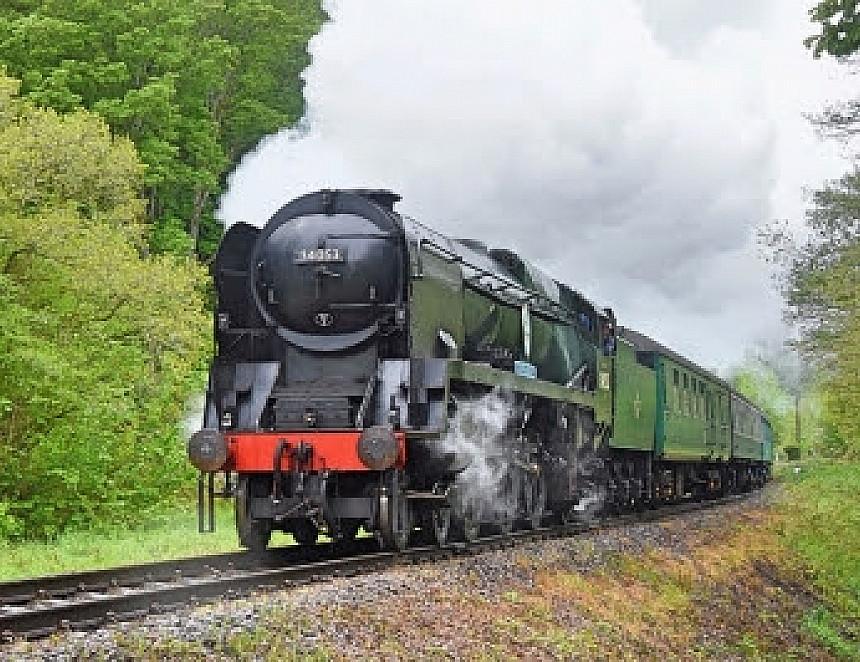 Railway festival back on track