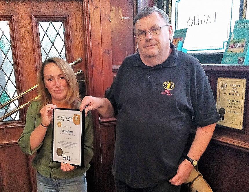 South Shields pub's golden celebration
