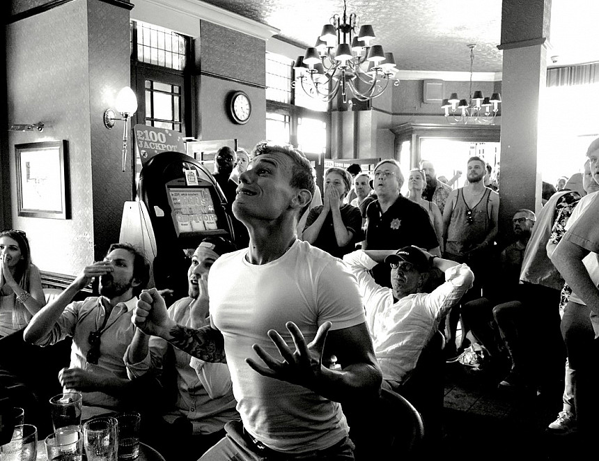 Plea for pubs to put football fans in the picture