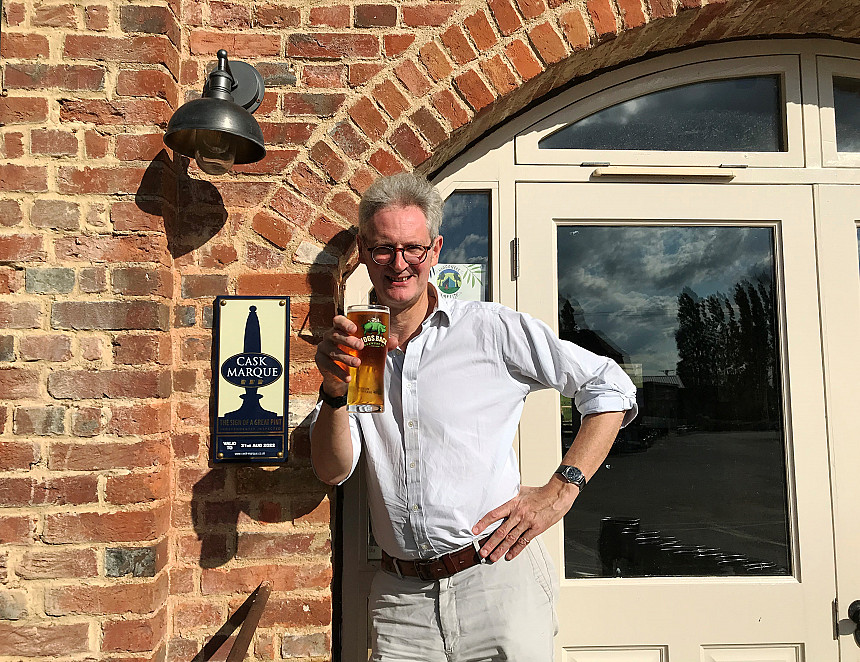 Stamp of approval for brewery tap