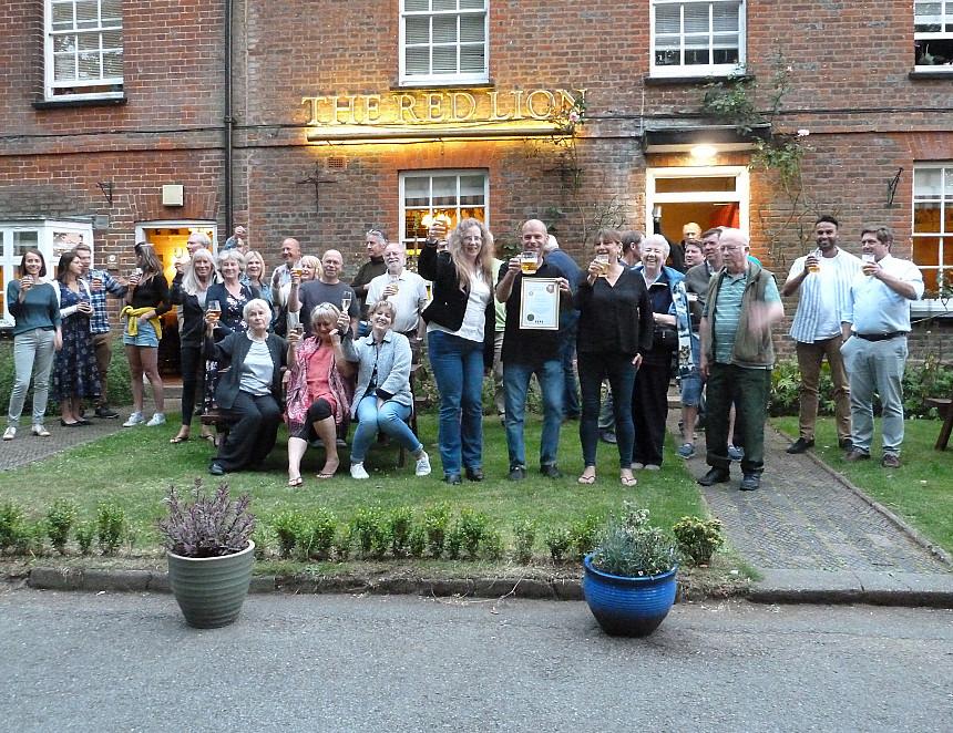 Community pub pioneer's Golden celebration